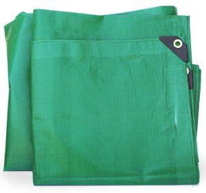 Tarpaulin, 24'x20' (7.3m x 6.1m) Green