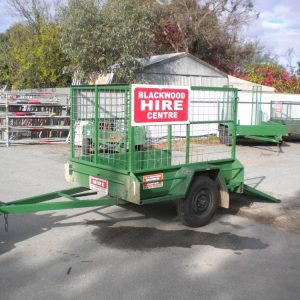 Trailer 6x4 Cage/Ramp