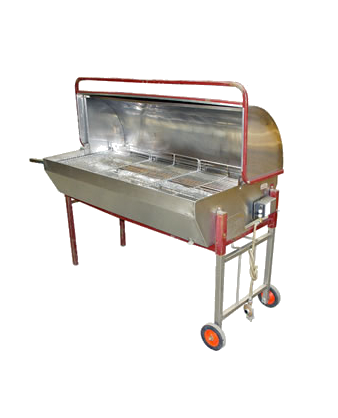 Barbecue roaster (inc. gas)