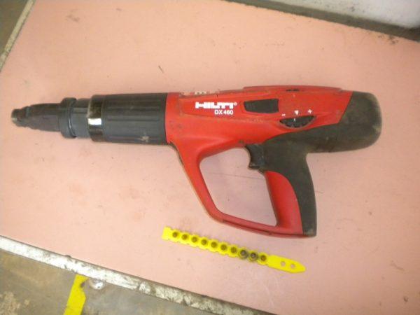 Special purpose fastening gun